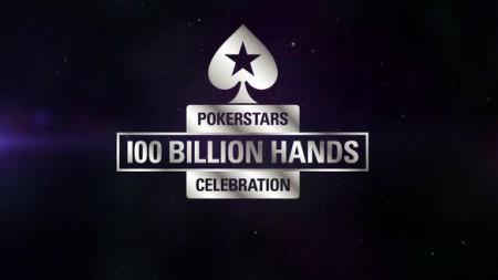 La 100 milliardième main de Pokerstars a été distribuée - plus de 2$ millions offerts par la room