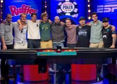 Table finale du Main Event des WSOP 2013 - Plus que 2 joueurs, le français termine 4ème