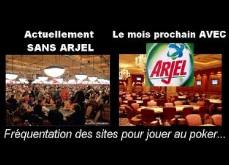 L'arjel annonce les derniers chiffres du poker en ligne français - Moins de joueurs intéressés