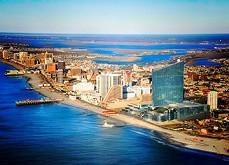 2016 a été une année positive d'1.5% pour les casinos d'Atlantic City Atlantic City