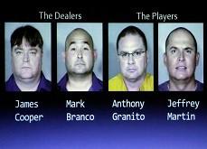 Le Black Book du Nevada accueille deux nouveaux fraudeurs