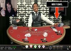 Affligeant ! Un croupier de blackjack triche en direct sur BetOnline