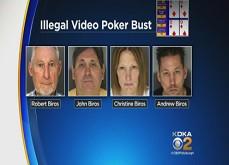 Des millions de dollars gagnés via un réseau familial de vidéo poker clandestin