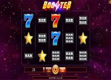 Ambiance spatiale pour Booster, la nouvelle machine à sous iSoftBet
