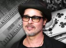 Brad Pitt organise une main au poker et fait une donation de 25.000$