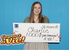 A 18 ans, elle achète son premier ticket de loterie et gagne 1C$ million !