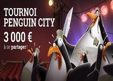 Tournoi Penguin City ! 3,000€ à gagner jusqu'au 31 juillet