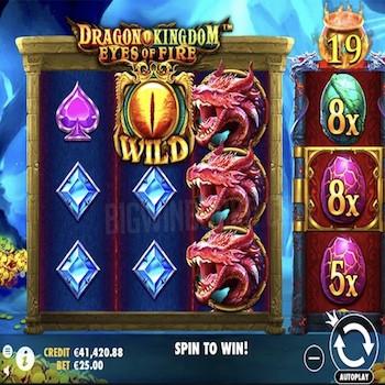Pragmatic Play lance sa nouvelle machine à sous Dragon Kingdom Eyes of Fire