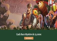 DublinBet - Ne loupez pas la Cash Race à 75,000€ et la Carte Mystère du Dublin Blackjack !