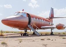 Le Jet Privé d'Elvis, le star de Vegas, bientôt mis aux enchères Las Vegas