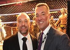 Les frères Fertitta pourraient revendre la ligue UFC 4.1$ milliards après l'avoir acheté 2$ millions en 2001