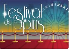Festival de Spins, le moyen de gagner des Super Spins avec Azur Casino