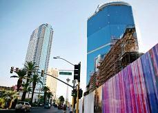 Le projet Fontainebleau Resort de Las Vegas mis sur le marché pour 650$ millions