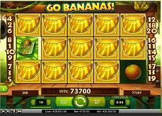 Un joueur en ligne enchaîne les gains sur Go Bananas et encaisse près de 50.000€
