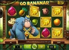 Découvrez la machine à sous Go Bananas de Netent et faites le plein de wilds