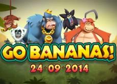 Trois nouvelles machines à sous gratuites jouables en illimité: Go Bananas, Silent Run et Reel Rush