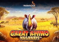 Pragmatic Play dévoile Great Rhino Megaways, sa prochaine machine à sous vidéo