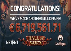 Jackpot mobile record sur la machine à sous Hall of Gods !