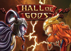 Le jackpot Hall of Gods remporté pour un total de 7.5€ millions