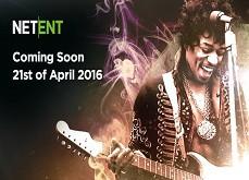 La machine à sous Jimi Hendrix de Netent sortira le 21 avril 2016