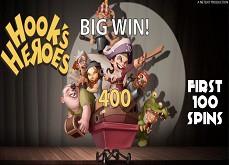 Voici les machines Wonky Wabbits, Hook's Heroes et Taco Brothers, jouables gratuitement