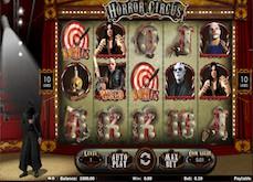 Machine à sous Horror Circus : à la rencontre de Dracula et de Massacre à la Tronçonneuse