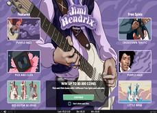 Détails sur la machine à sous Jimi Hendrix enfin disponible