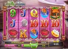 Kitty Twins : des chatons tout mignons sur les casinos en ligne GameArt