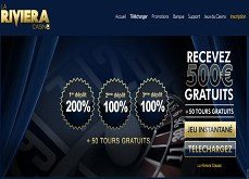 La Riviera fête ses 5 années d'existence et améliore son pack de bienvenue avec 500 euros à gagner