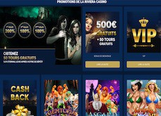 Les promotions alléchantes du casino en ligne La Riviera, de la semaine au week-end