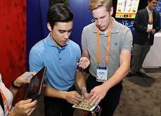Deux étudiants proposent l'une des premières Video Gaming Machines, entre le jeu vidéo et le jeu de casino