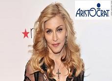 Une future machine à sous Madonna avec le développeur Aristocrat