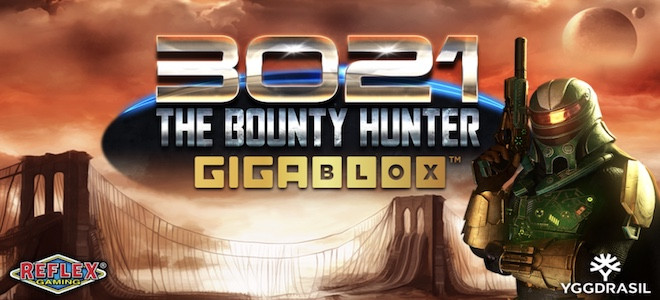 Yggdrasil : la collection Gigablox accueille un nouveau titre baptisé 3021 The Bounty Hunter