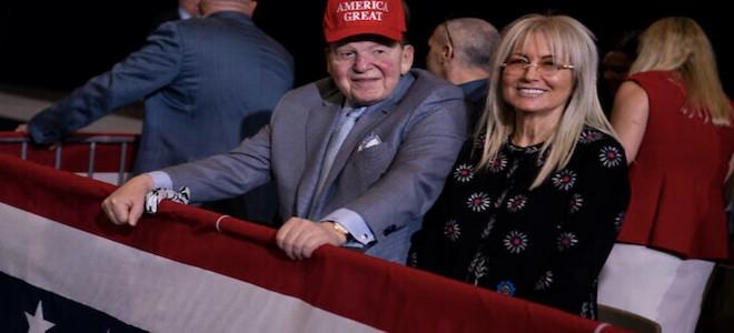 Sheldon Adelson, partisan de Trump et roi des casinos américain, est décédé