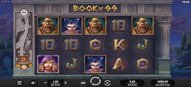 Book of 99 : la nouvelle machine à sous de Relax Gaming avec un RTP de… 99 % !
