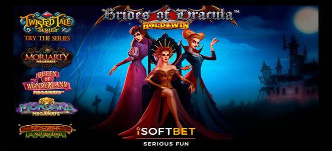 Halloween : la machine à sous Brides of Dracula: Hold & Win™ rejoint la collection Twisted Tales d'iSoftBet