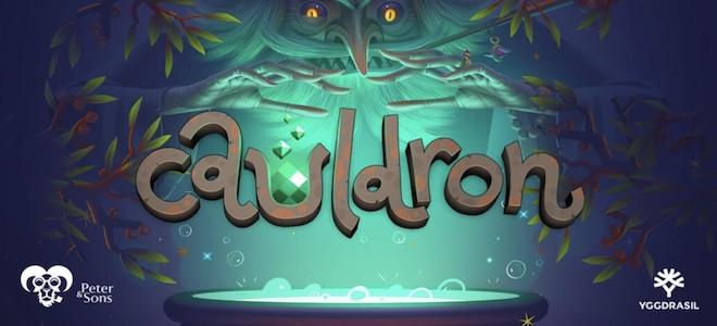 Yggdrasil Gaming lance sa nouvelle machine à sous vidéo Cauldron