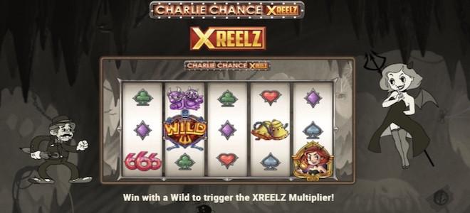Play'n Go lance une nouvelle machine à sous vidéo Charlie Chance XReelz !