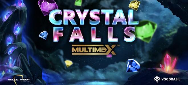 Crystal Falls MultiMax : Yggdrasil et Bulletproof Games lancent leur premier titre GEM