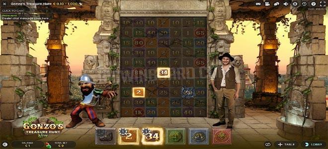 Gonzo's Treasure Hunt : le titre d'Evolution qui fusionne machine à sous, jeu de casino Live et VR