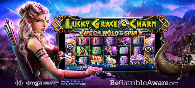 Lucky, Grace & Charm Mega Hold & Spin, nouvelle machine à sous sur les casinos Pragmatic Play