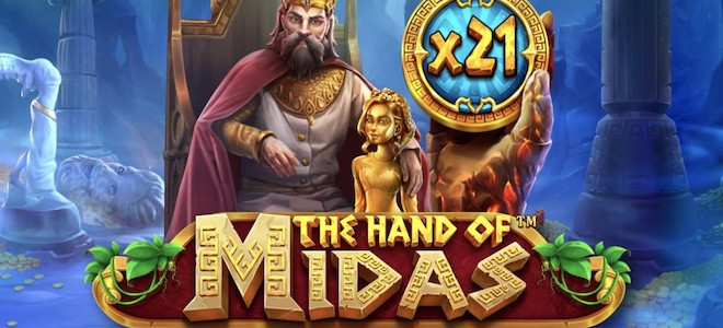 The Hand of Midas : Pragmatic Play redonne vie à un mythe antique