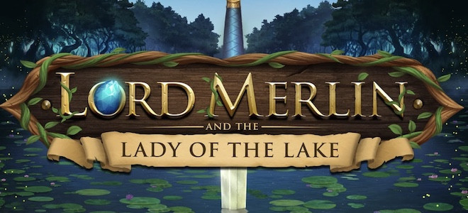 Lord Merlin and the Lady of the Lake : Play'n Go lance une machine à sous placée sous le signe de la magie !