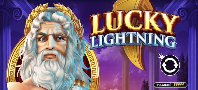 Pragmatic Play publie Lucky Lightning, nouvelle machine à sous créée par Wild Streak Gaming
