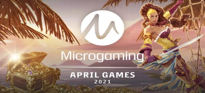 Zoom sur les nouvelles machines à sous Microgaming du mois d'avril 2021 !