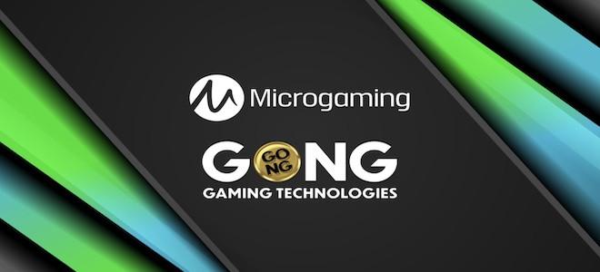 Nouveau partenariat inédit entre Microgaming et GONG Gaming Technologies !
