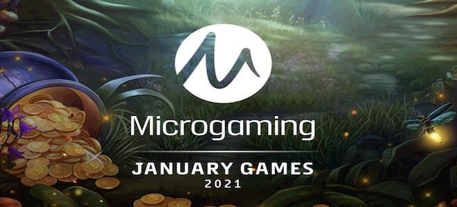 Machines à sous : le line-up exceptionnel de Microgaming pour ce mois de janvier