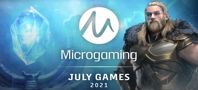 Zoom sur les nouvelles machines à sous Microgaming du mois de juillet 2021