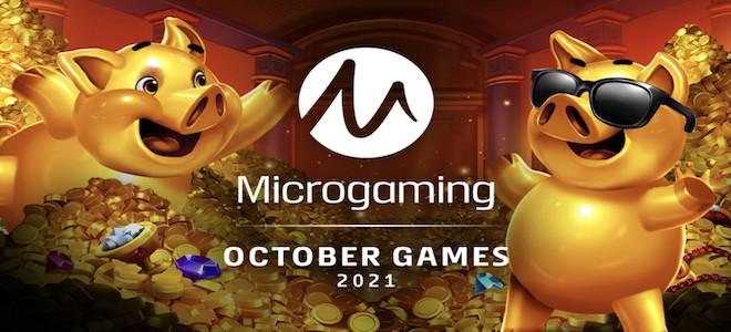 Zoom sur les nouvelles machines à sous en ligne Microgaming annoncées pour Octobre 2021