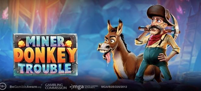 Play'n Go : la première machine à sous de 2021, Miner Donkey Trouble est disponible